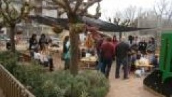 Inauguració de les millores del jardí